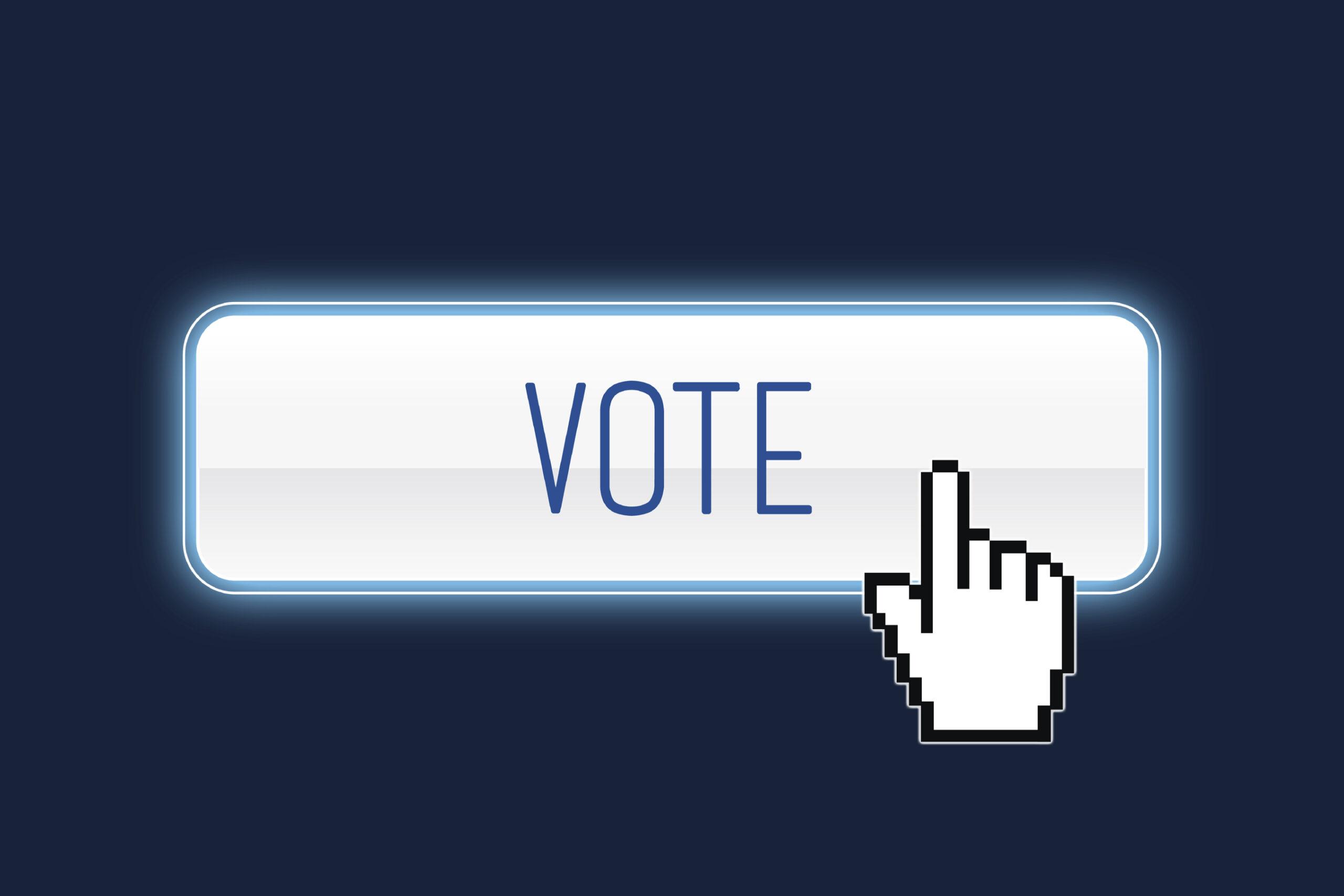 Online Voting Button
