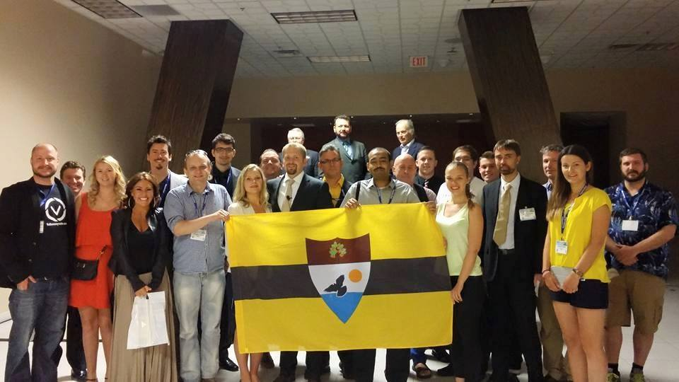 Liberland at Freedom Fest - Follow My Vote