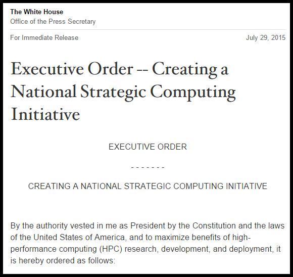 Obama's Executive Order