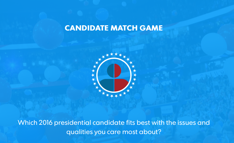 Candidate Match Game