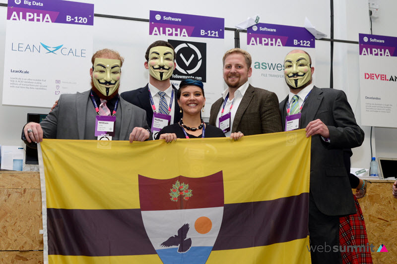 Follow My Vote and Liberland at Web Summit