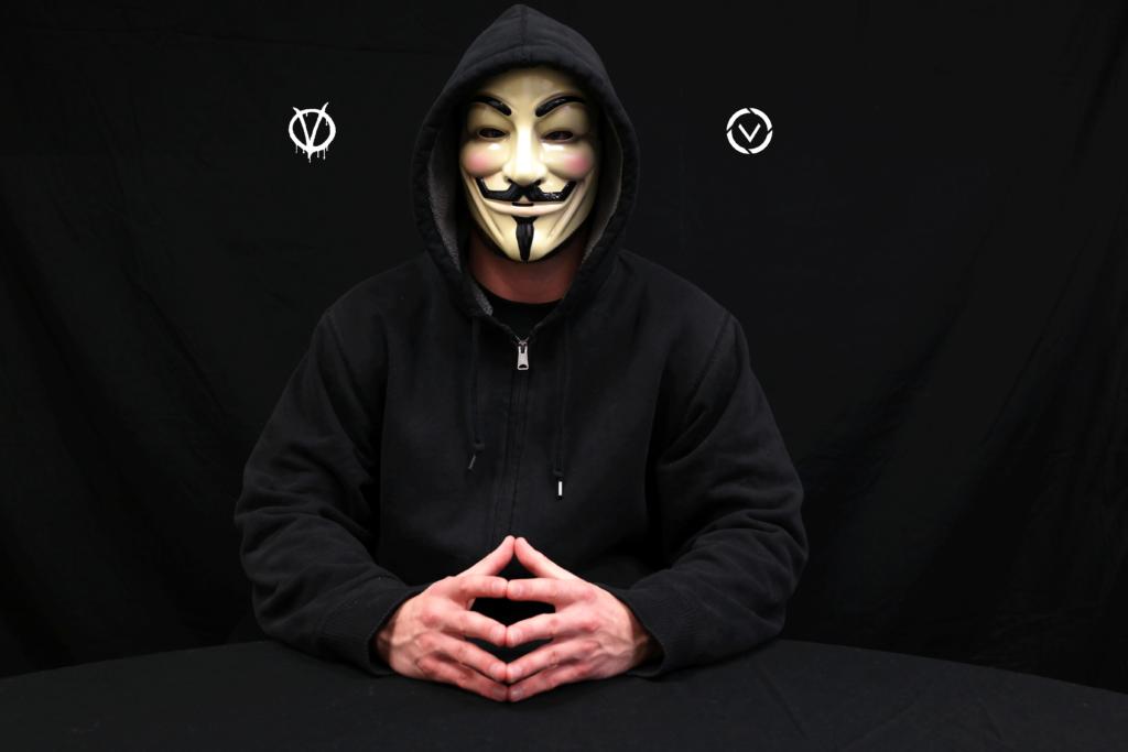 V For Vendetta Mask Follow My Vote Follow My Vote