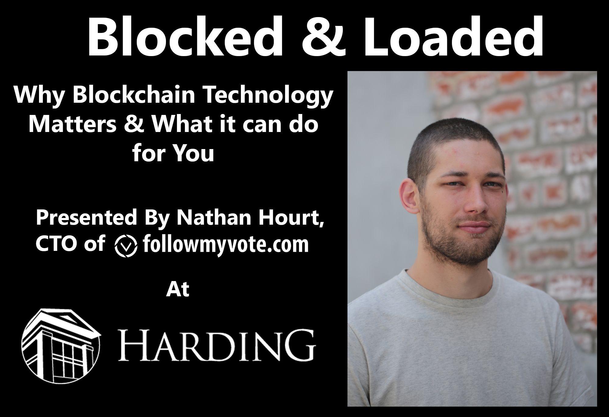 Blockchain Speech