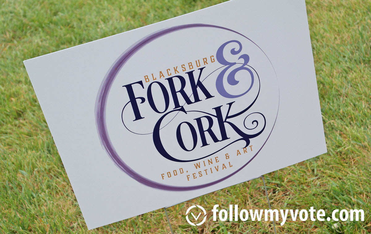 Sponsoring The Blacksburg Fork and Cork