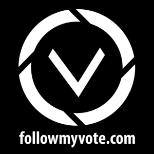 Follow-My-Vote---Logo---No-Border---White-On-Black---Square