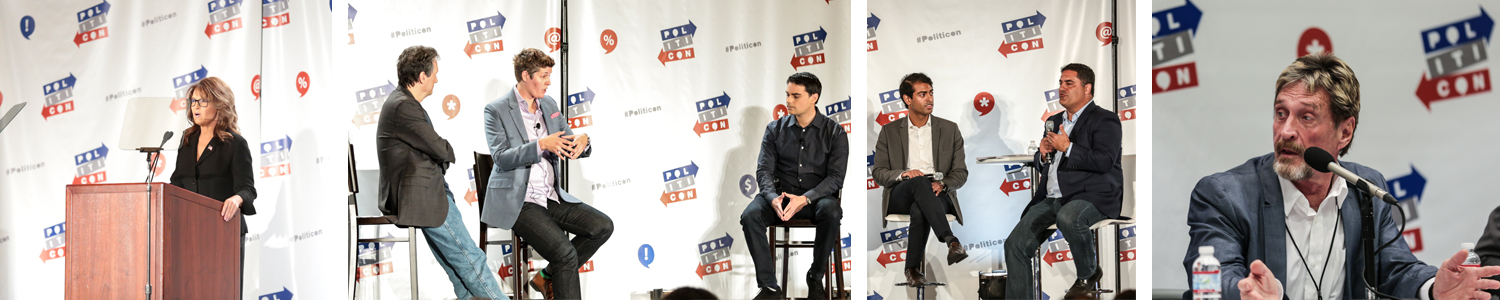 Speakers at Politicon - Follow My Vote