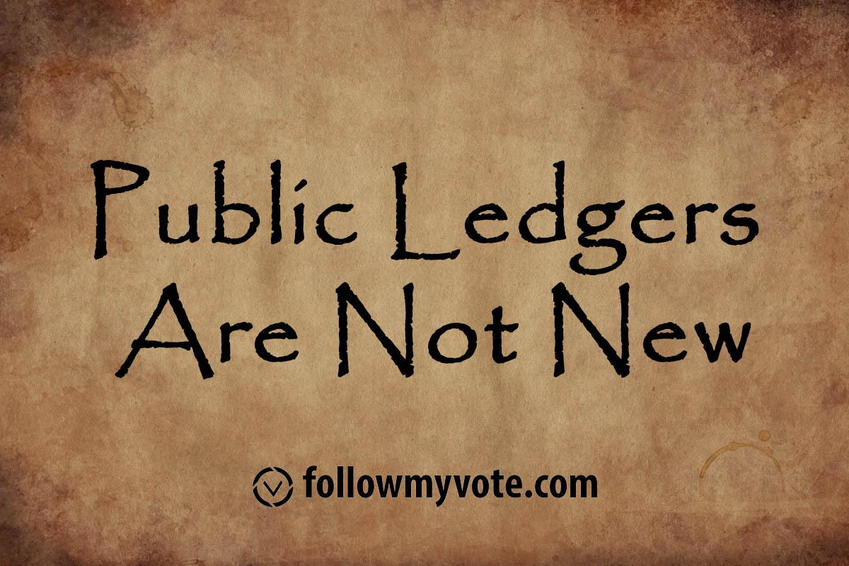 Public ledgers